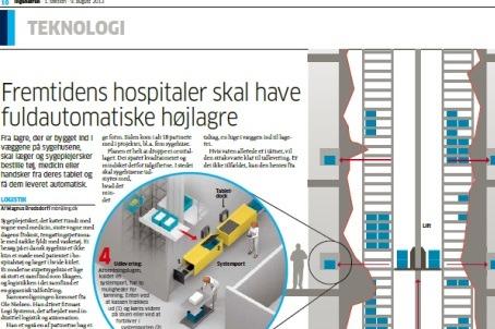 Promovering af hospitalslogistik